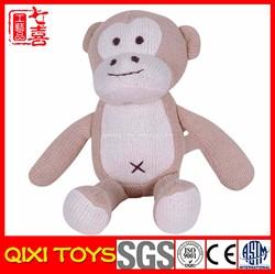 custom monkey crochet plush toy crochet monkey toy