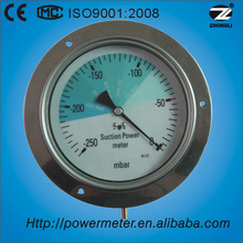 (YE-160) 160mm negative kpa pressure half stainless steel tension measuring gauge