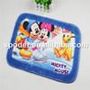Soft cartoon mouse printed indoor kids play mat