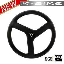2014 XBIKE accelerating fast and lightest full carbon three spoke wheels