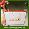 promotion advertisement paper bag