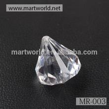 Wholesale clear crystal diamond stone for wedding decoration(MR-003)