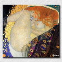 Klimt oil painting nude women paintings oil