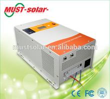 1-6kw pure sine wave solar power inverter pure copper transformer