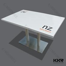 pure white short leg japanese dining table