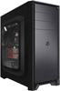 ARMOUR- ATX Mid Tower USB3.0 Gaming Case Aluminum Black injection panel