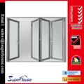 de calidad superior as2047 lowes estándar de vidrio interior de puerta plegable