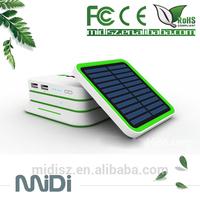 High Capacity 6000MAH Solar Power Bank, Solar Energy