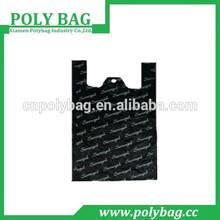 black plastic shopping vest bag for dress