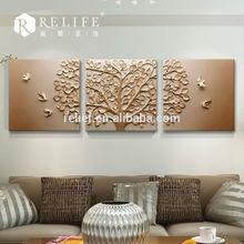 3D WALL ART CANVAS flower art design of home decorative new artists paintings