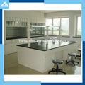 Laboratório da escola de mesa e cadeira/epóxi revestido de armadura de aço bancada/laboratório óptico
