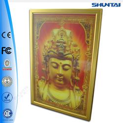 aluminum slim led snap frame light box/led light box/aluminum frame poster