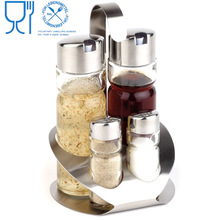 Daily Use Product In Kitchen Stainless Steel Table Condiment Holder