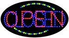 outdoor battery powered led open closed sign