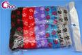 2014 de pelo de moda vestir 12 piezas de diseño de la flor toalla banda elástica del cabello