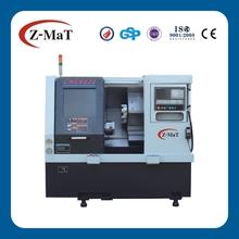 CNC6832 turret slant bed linear guide way cnc lathe machine in japan