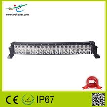 High technology 120w cob led light bar kenworth curved led light bar