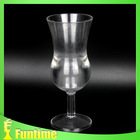 Party favor wine decorated margarita glass