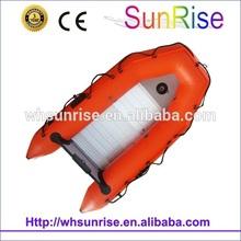 De rescate 2.9m pvc bote inflable