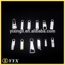 New Eco-friendly garment zipper puller mold for bags custom metal zipper puller high polish metal zipper slider