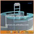 Chine oem polyvalent design présentoir présentoir en métal/stand. présentoir bouteille de vin en métal