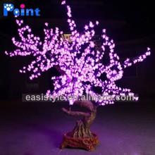 2014 new design! energy saving1.5m simulation flashing bonsai led flower vase light