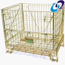 heavy duty wire mesh warehouse storage containers