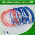 el precio de fábrica el cristianismo personalizado pulseras de silicona china
