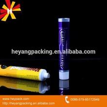 Small hand cream pencil tube