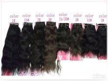 In stock , High quality virgin brazilian hair extension ,100% Human Hair ,body wave virgin hair extension