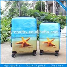 Custom designed seastar sport luggage / primark luggage