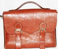 Handmade leather office bags for men
