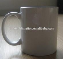 11oz sublimation white ceramic mugs GRADE A