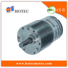 forward and reverse 37mm dia gearbox 6mm shaft high torque 12v dc motor 180rpm