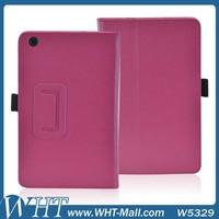 Litchi Grain Leather Case for Lenovo A5500 Flip Cover Wholesale