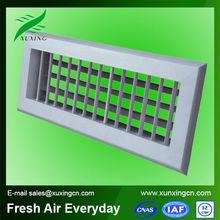 HVAC plastic ventilation grilles double grille air louver grille