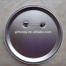 Guangzhou factory product badge button , Tin button badge