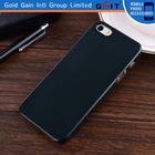 Black Ultra-Thin Matte Rubberized Slim Hard Back Shell Case for iphone 5