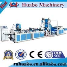 High output Huabo 2012 bag making machinery,3 side gusset nonwoven bag making machine,3 side seal bag machine