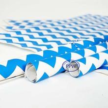 Sky blue colour Paper classical Blue stripe paper