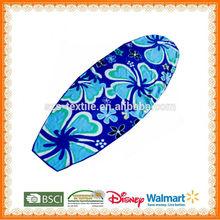 100%cotton flower surf brand beach towels