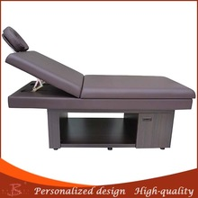 SPA bed wood facial table for cheap wood facial tanner tanning