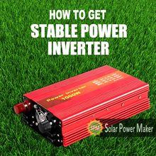 solar power inverter/pwm dc 12v ac 220v solar inverter