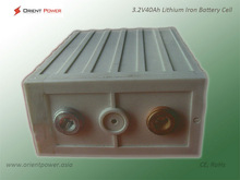 rechargeable prismatic lithium battery LiFePO4 40Ah 3.2V