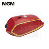 AX100A--Red truck aluminum fuel tanks/motorcycle fuel tank/diesel fuel storage tank