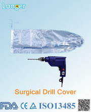 parabolic shape surgical electrodrill protective cover hospital use.