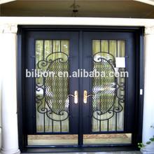 black iron door pull handles