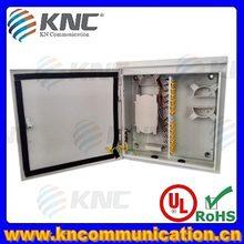 up to 144 ports IP65 outdoor wall mount fiber optic enclosures