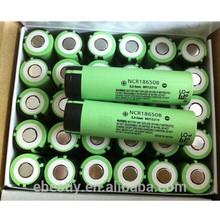 NCR18650B 3400mAh 18650 battery 3.7V Li-ion panasonic Battery/18650 battery