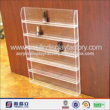 factory wholesale various custom clear acrylic 60 bottles nail polish wall display